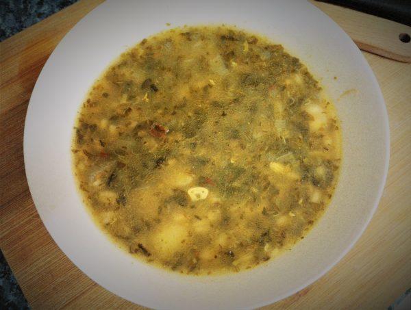 Męskie gotowanie: pikantna zupa szczawiowa