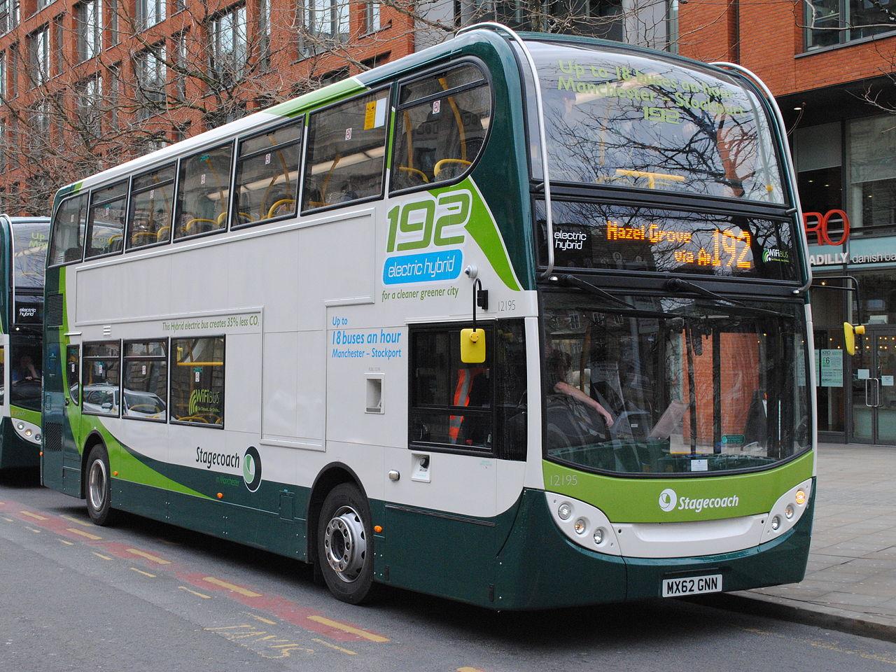 Jak poruszać się po Manchesterze. Część pierwsza: autobusy.
