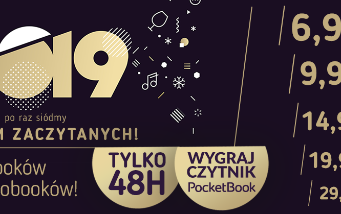 Zaczytani 2019 — dwa dni promocji w ebookpoint.pl.