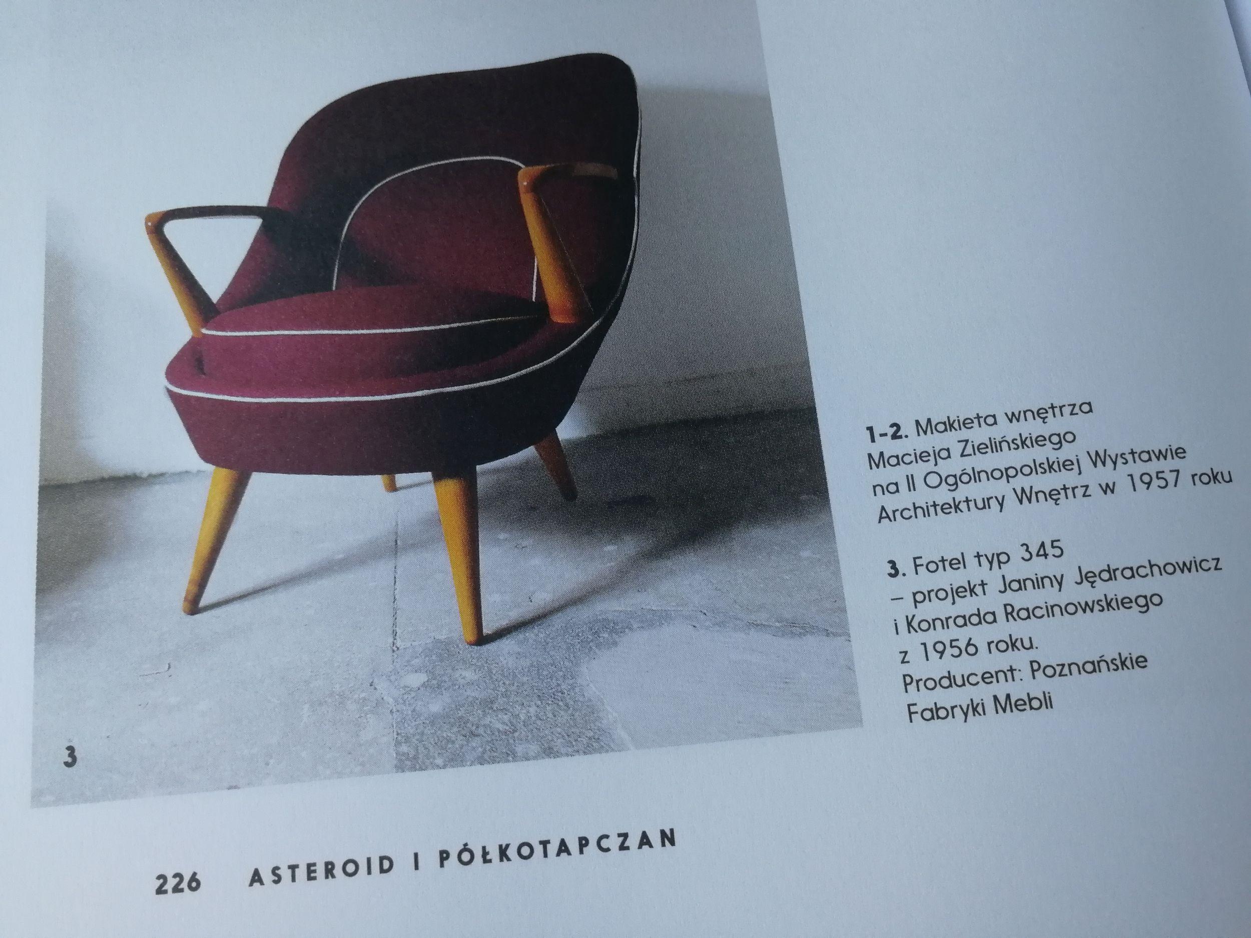 Taki fotel mógłby się i dziś podobać.