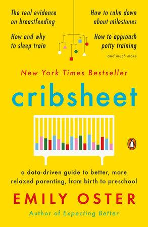 """Okładka książki """"Cribsheet"""""""